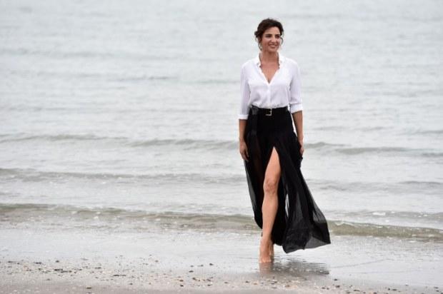 'Luisa Ranieri' - Photocall - 71st Venice Film Festival